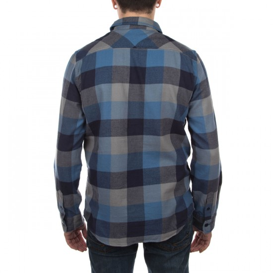 Vans Box Flannel Shirt - Coronet Blue/Nautical