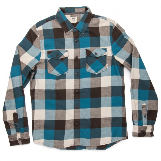 Vans Box Flannel Shirt - Marine