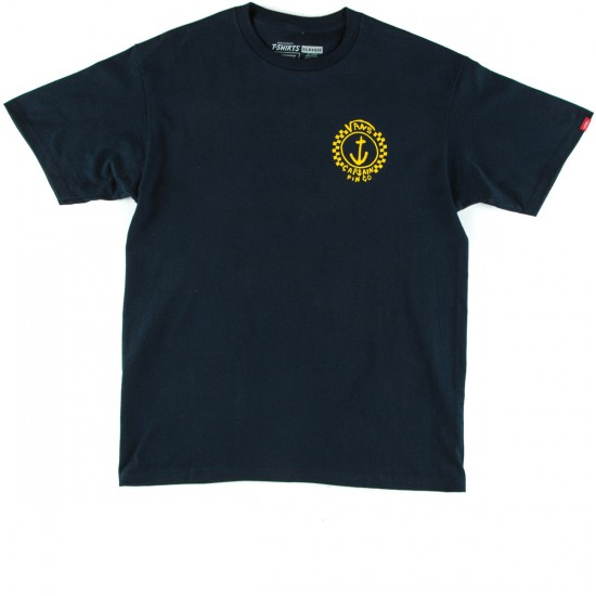 Vans Capt Fin Anchor T-Shirt - Navy