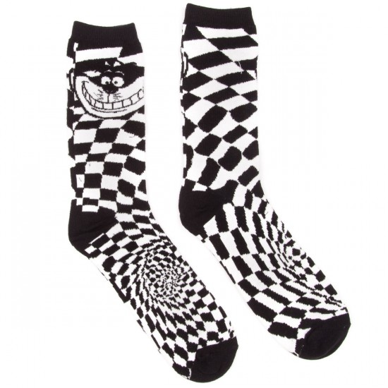 Vans Cheshire Cat Socks - Black