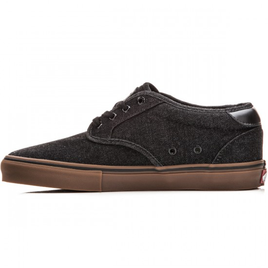 Vans Chima Estate Pro Shoes - Denim Black/Gum - 10.0