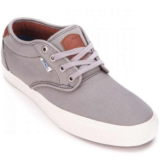 Vans Chima Estate Pro Shoes - Herringbone/Light Grey - 6.5