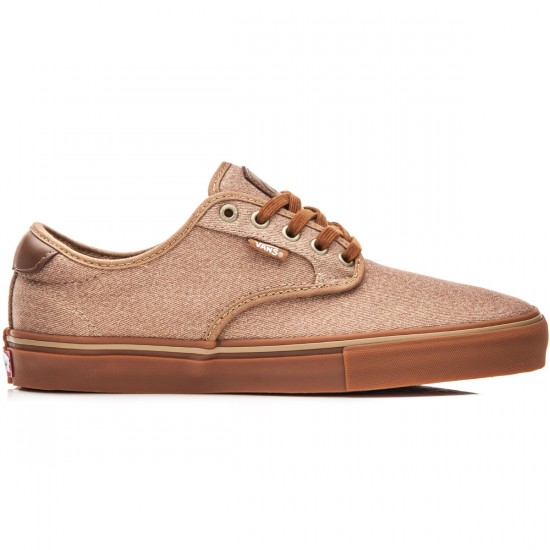 Vans Chima Ferguson Pro Shoes - Covert Twill Khaki/Gum - 8.0