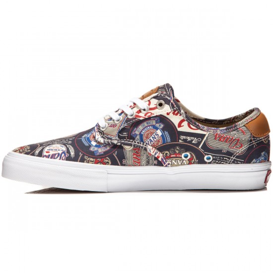 Vans Chima Ferguson Pro Shoes - Labels Navy/White - 8.5