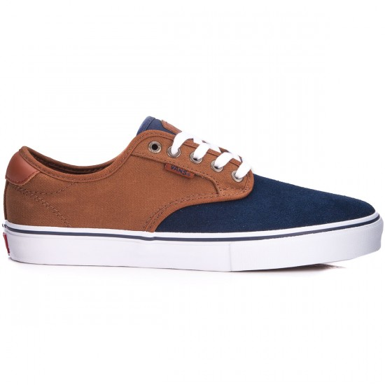 Vans Chima Ferguson Pro Shoes - Two Tone Navy/Tobacco - 6.0