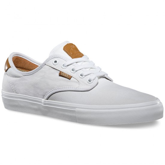 Vans Chima Ferguson Pro Shoes - White/White - 6.5