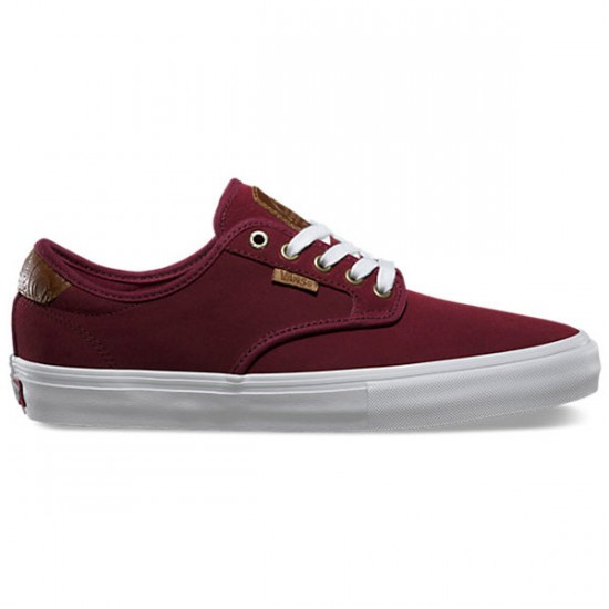 Vans Chima Ferguson Pro Shoes - Saddle Port/White - 9.0
