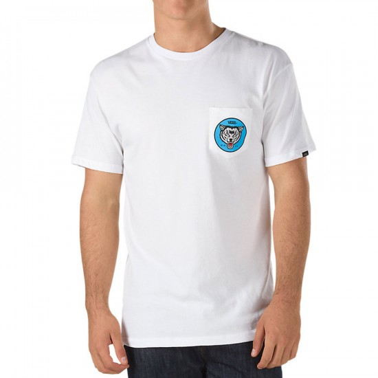 Vans Chima Pocket T-Shirt - White