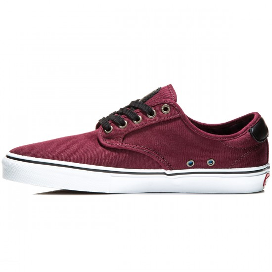 Vans Chima Ferguson Pro Shoes - Plaid/Port - 8.0