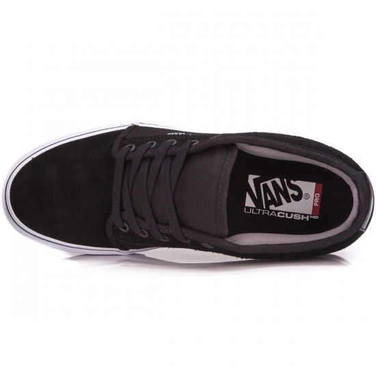 Vans Chukka Low Shoes - Suede/Black/White - 5.0