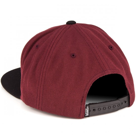 Vans Classic Patch Snapback Hat - Port/Black