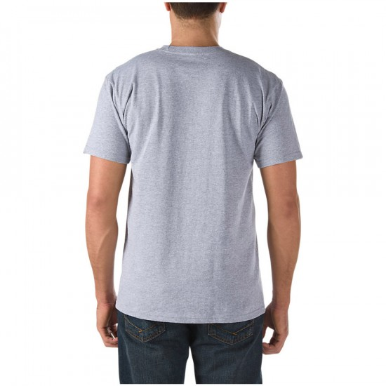 Vans Classic T-Shirt - Athletic Heather/White