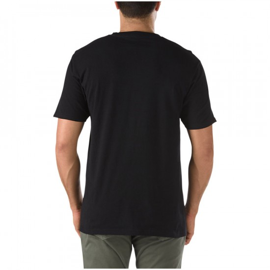 Vans Classic T-Shirt - Black/Reinvent Red