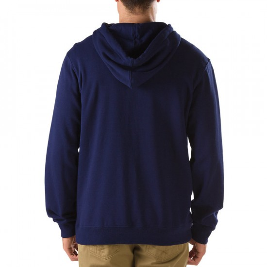 Vans Core Basic Zip Hoodie III Sweatshirt - Peacoat