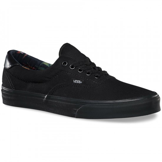 Vans Era 59 Black Bloom Shoes - Black/Black - 6.0