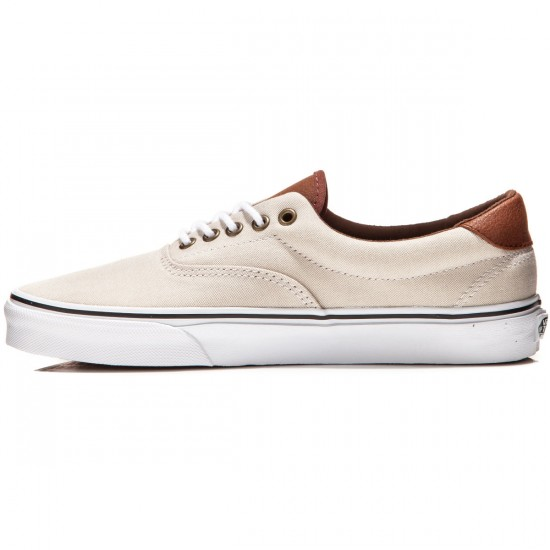 Vans Era 59 Shoes - Oxblood/Khaki//True White - 8.0