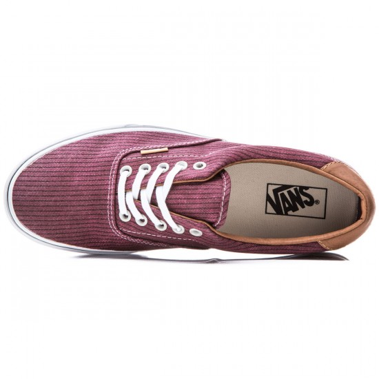 Vans Era 59 Shoes - Washed Herringbone/Rhubarb - 8.0