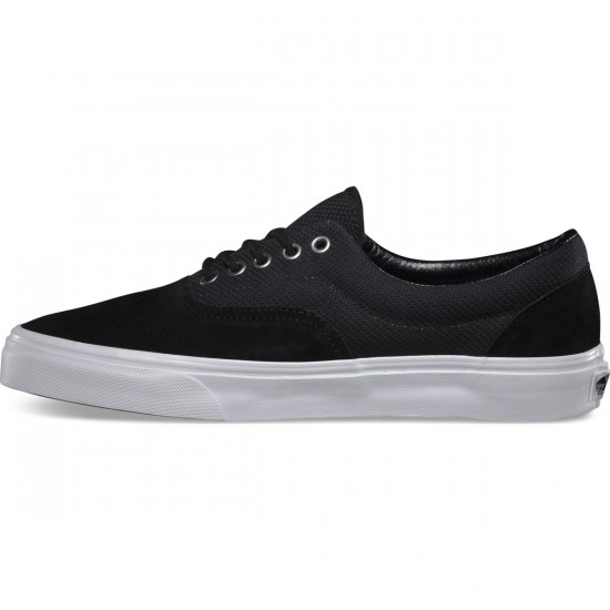 Vans Era Hemp Shoes - Black/True White - 8.0