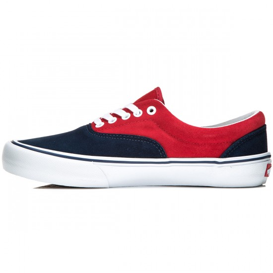 Vans Era Pro Shoes - Navy/Red - 8.0
