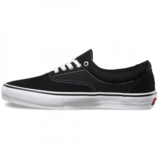 Vans Era Pro Shoes - Black/White/Gum - 6.5