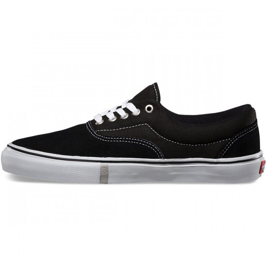 Vans Era Pro Shoes - Black/White/Red - 6.0