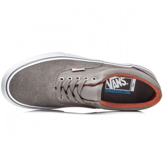 Vans Era Pro Shoes - Brushed Nickel/White - 8.0