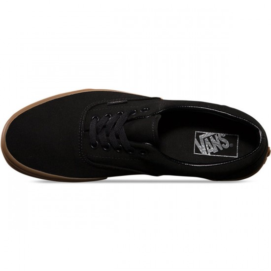 Vans Era Shoes - Black/Classic Gum - 9.5