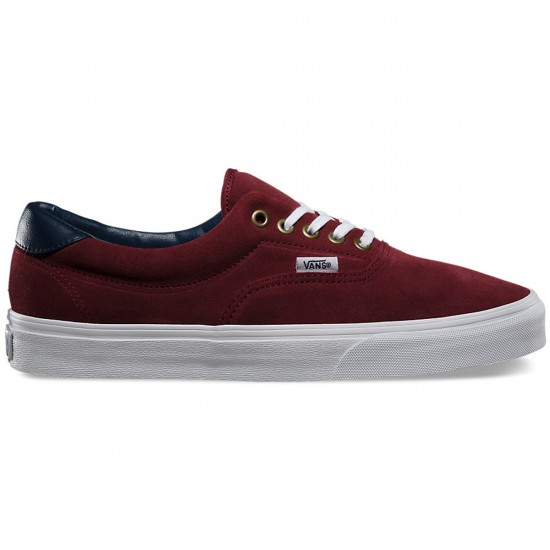 Vans Era 59 Suede/Leather Shoes - Oxblood Red - 8.0