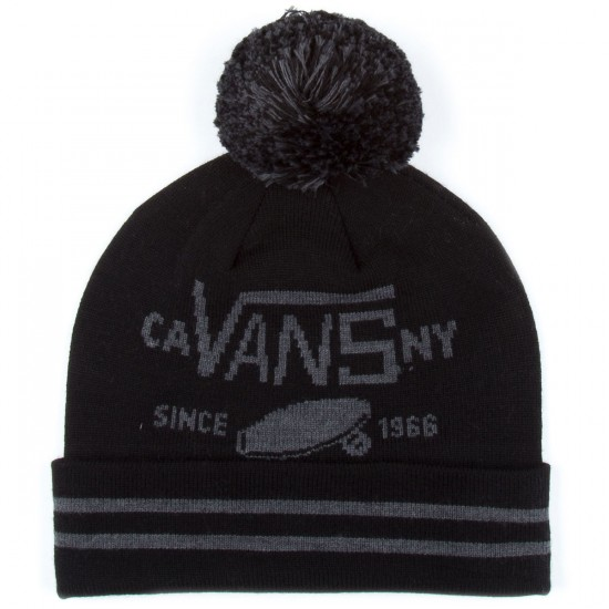 Vans Full Patch Pom Beanie Beanie - Black