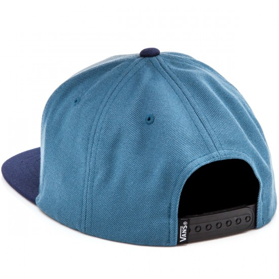 Vans Full Patch Snapback Hat - Blue Ashes/Dress Blues
