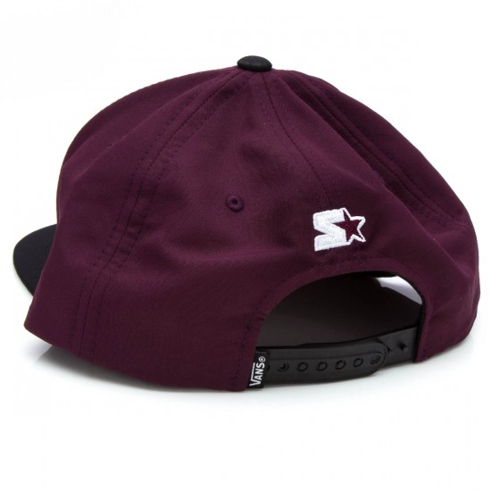 Vans Full Patch Starter Hat - Port/Black