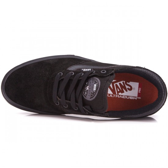 Vans Gilbert Crockett Pro Shoes - Black/Black/Auburn - 6.5