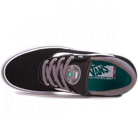 Vans Gilbert Crockett Pro Shoes - Black/Pewter - 6.5