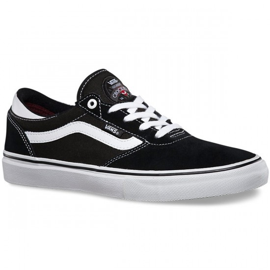 Vans Gilbert Crockett Pro Shoes - Black/White - 6.5