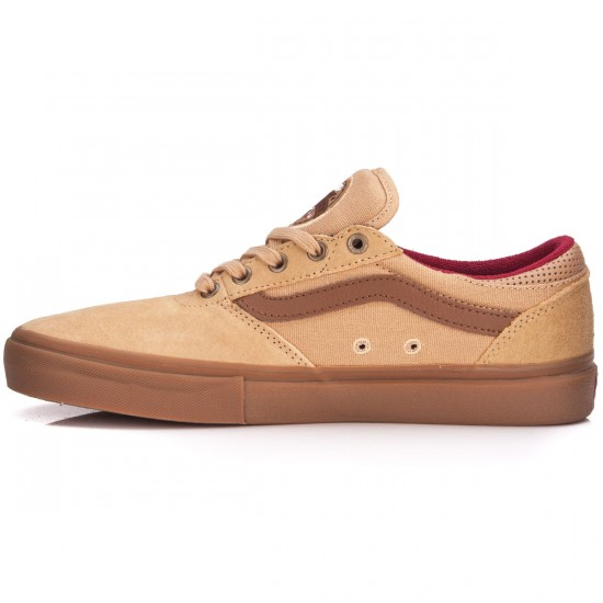 Vans Gilbert Crockett Pro Shoes - Tan Dachshund/Gum - 6.5