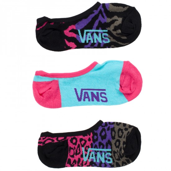 Vans Canoodle Socks - 3 Pack - Gradient Animal