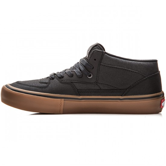 Vans Half Cab Pro Shoes - xtuff-black-gum - 8.0