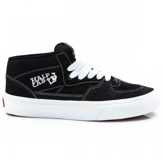 Vans Half Cab Shoes - Black 68c269e01