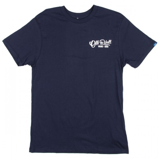 Vans Hand Painted T-Shirt - Black Iris