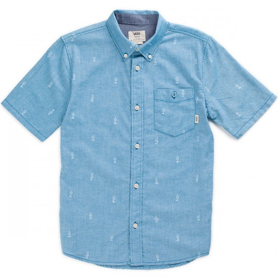 Vans Houser Boy's Short Sleeve Shirt - Celestial Tucson