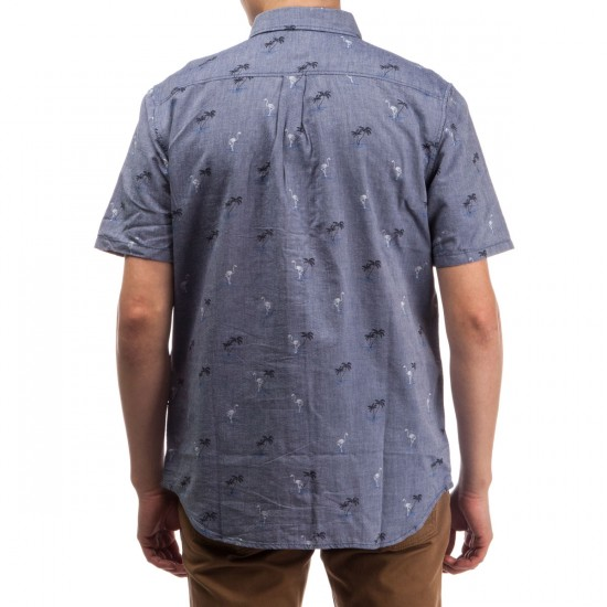 Vans Houser Short Sleeve Shirt - Blueprint Flocking Dead