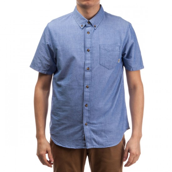 Vans Houser Short Sleeve Shirt - True Blue