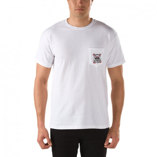 Vans Indy Pocket T-Shirt - White