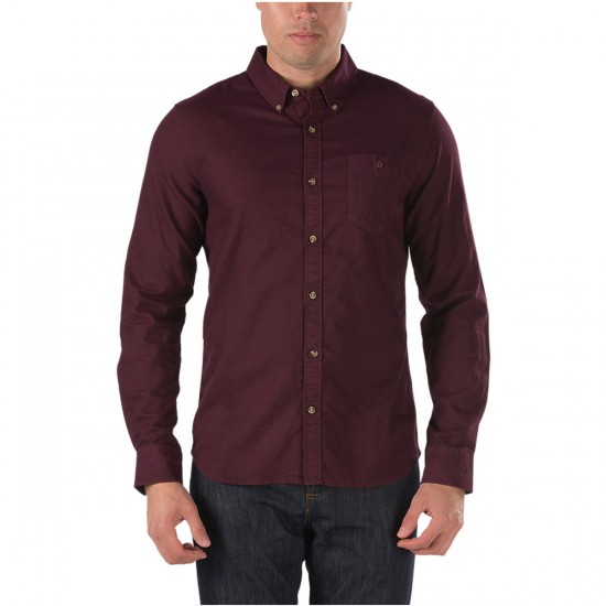 Vans Mendoza Long Sleeve Shirt - Port