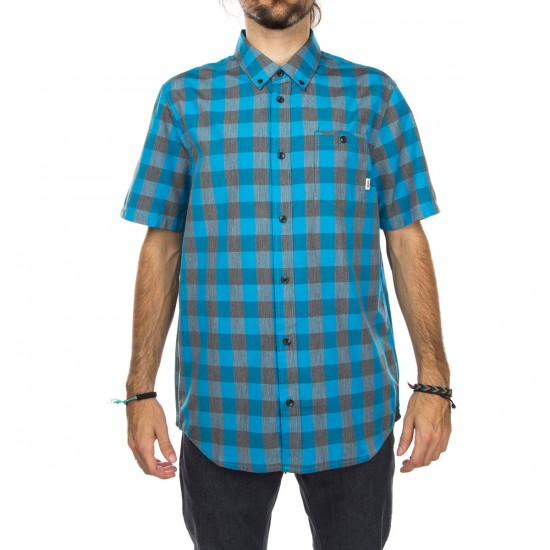 Vans Milton Shirt - Pirate Black/Maliblue