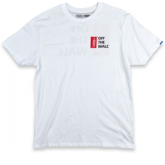 Vans Off The Wall III T-Shirt - White