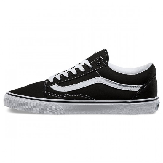 Vans Old Skool Shoes - Black/White - 8.5