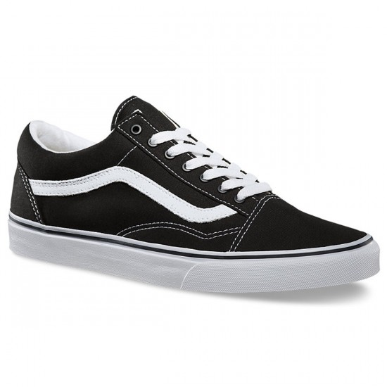 Vans Old Skool Shoes - Black/White - 8.0