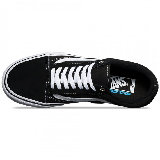 Vans Old Skool Pro Shoes - Black/White - 8.0