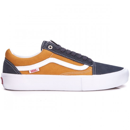 Vans Old Skool Pro Shoes - Ebony/Thrush - 6.5
